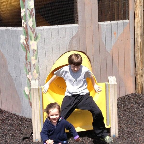 Photo taken at Annie's Playground by Jim B. on 4/7/2013