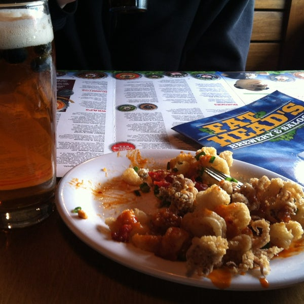 Get the Calamari and Blueberry Ale!