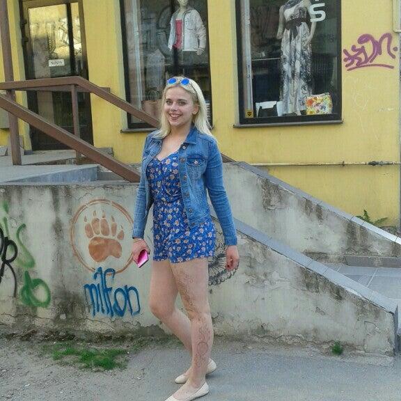 Photo taken at Barona Centrs by Kristiāna K. on 5/23/2016