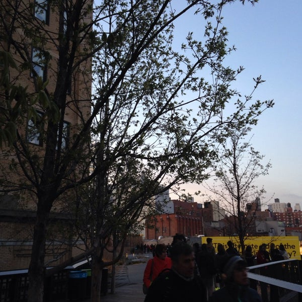 Photo taken at High Line 10th Ave Amphitheatre by Lauren S. on 4/17/2014