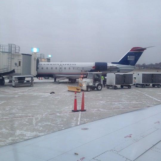 Photo taken at Portland International Jetport (PWM) by Jason M. on 12/16/2012