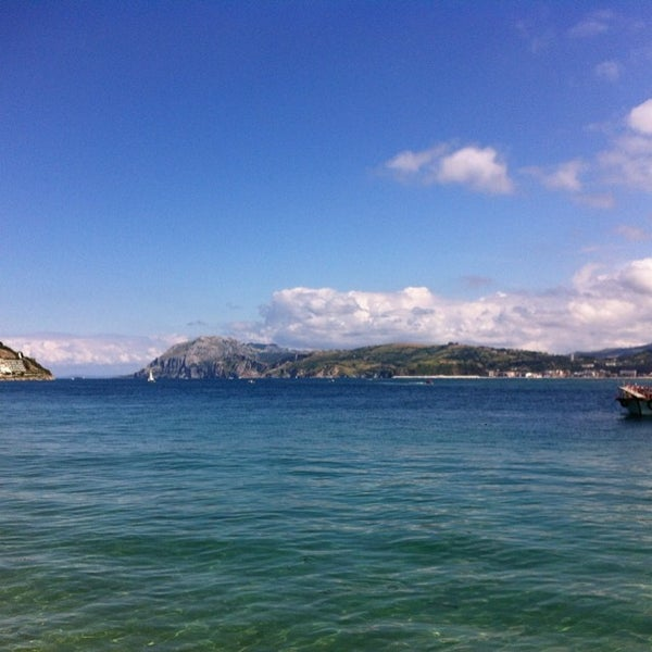 Photo taken at Santoña by Eduardo M. on 7/13/2014