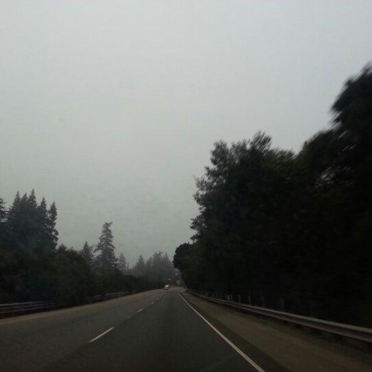 Photo taken at Santa Cruz Mountains by Dorothy D. on 10/31/2012