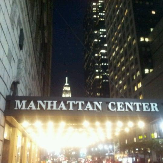 Photo taken at Hammerstein Ballroom by Raul R. on 10/23/2012