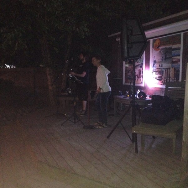Photo taken at The Big Chill Surf Cantina by DEW-ME B. on 6/28/2014