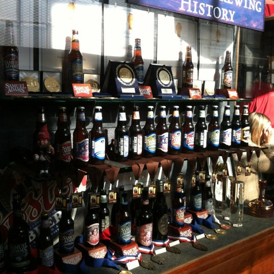 Photo taken at Samuel Adams Brewery by Kara S. on 10/26/2012