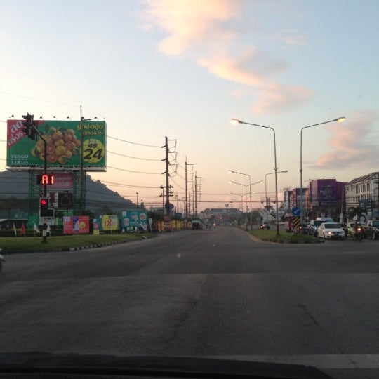 Photo taken at แยกโลตัสภูเก็ต (Lotus Intersection) by Daphad S. on 12/6/2012
