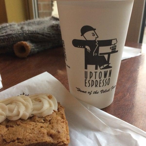 Photo taken at Uptown Espresso by Rain T. on 11/21/2016