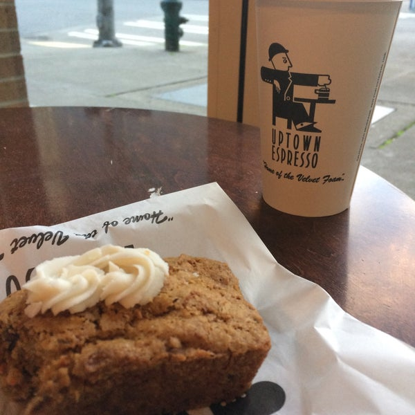 Photo taken at Uptown Espresso by Rain T. on 12/1/2016