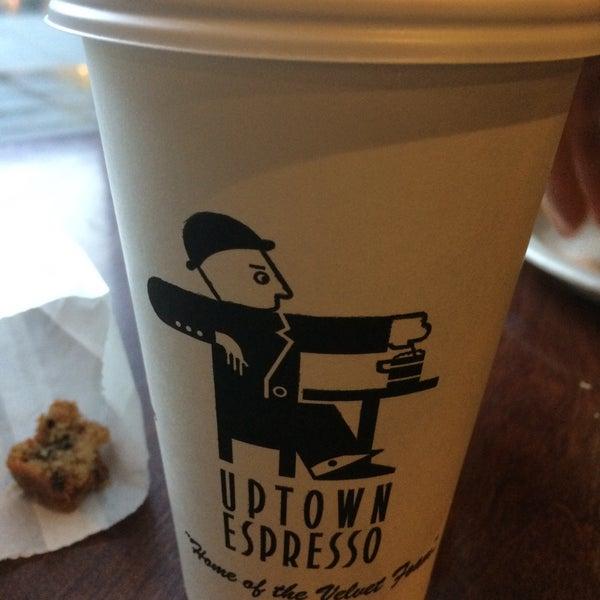 Photo taken at Uptown Espresso by Rain T. on 1/10/2017