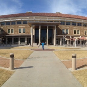 Photo taken at TTU - Rawls College of Business by Jacob K. on 3/15/2013