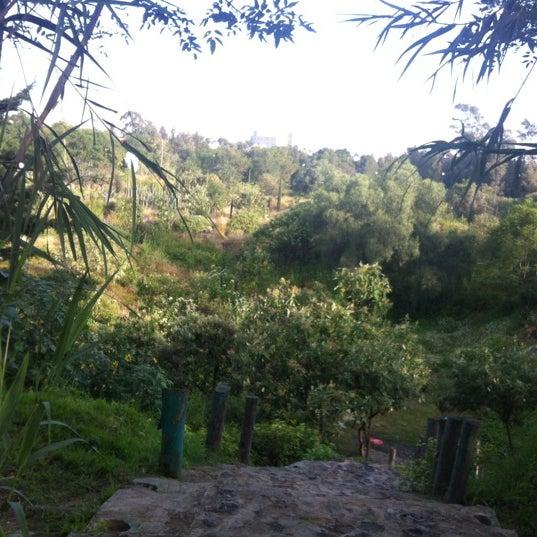 Photo taken at Parque Ecologico Huayamilpas by Alma Dolly P. on 10/3/2012