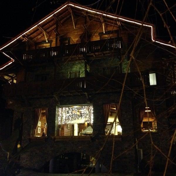 Photo taken at Hotel Grevol Spa & Wellness Llanars by Victor P. on 12/25/2013