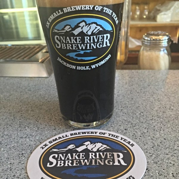 Photo taken at Snake River Brewery & Restaurant by Justin B. on 1/1/2015