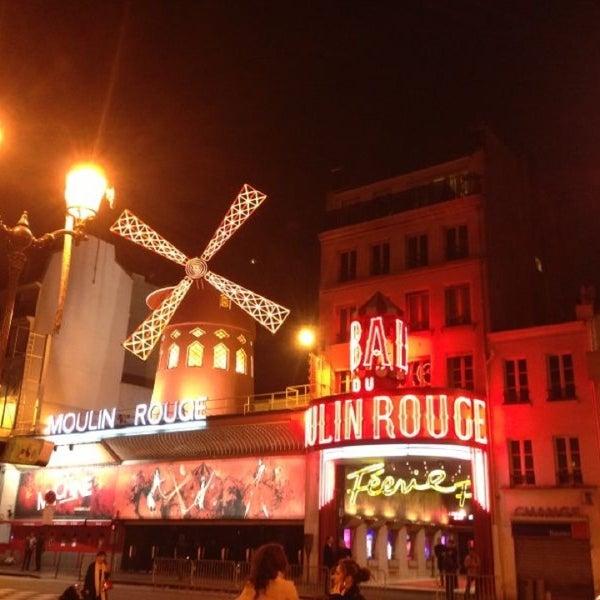 Photo taken at Moulin Rouge by Özlem Ç. on 5/1/2013