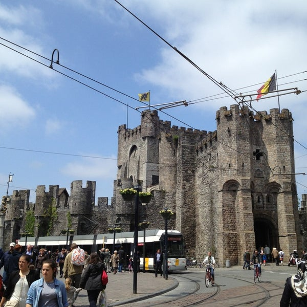 Photo taken at Gravensteen / Castle of the Counts by Paul M. on 6/1/2013