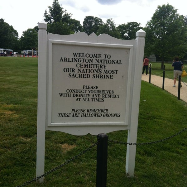 Photo taken at Arlington National Cemetery by William M. on 5/23/2013