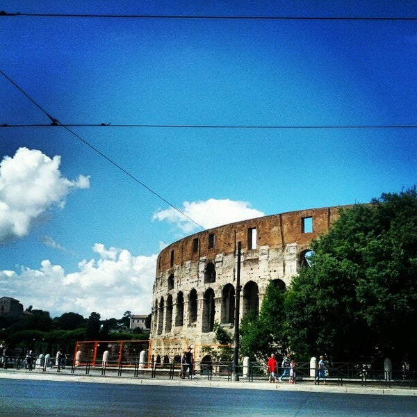 Photo taken at Piazza del Colosseo by Roldano D. on 9/16/2012