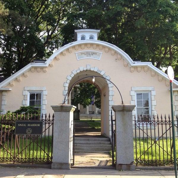 Snug Harbor Cultural Center Botanical Garden Randall Manor Staten Island Ny
