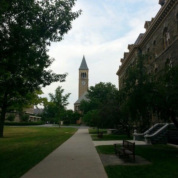 Photo taken at Cornell University by Juli J. on 7/27/2013