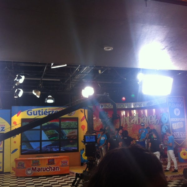 Photo taken at Multimedios Televisión by Gera T. on 2/21/2014
