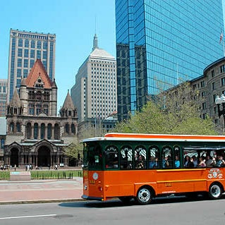 Photo taken at Old Town Trolley Tours of Boston by Boston T. on 5/28/2015