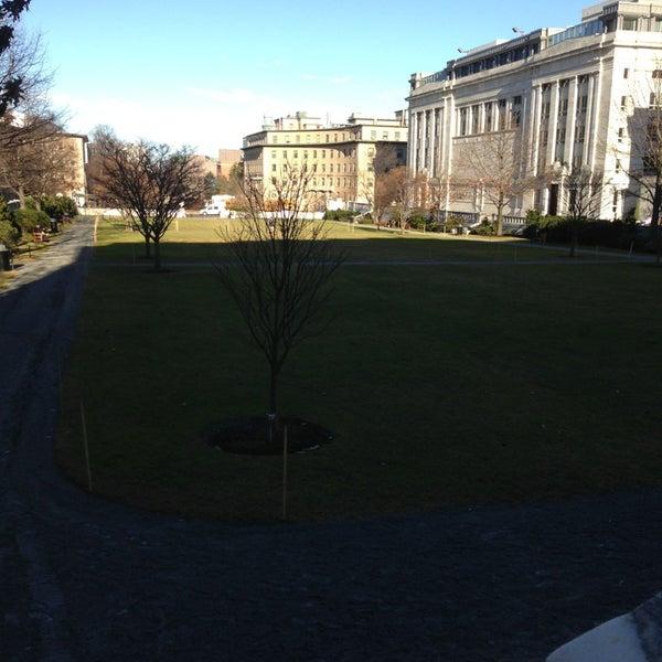 Photo taken at Harvard Medical School Quadrangle by Jason M. on 1/14/2013