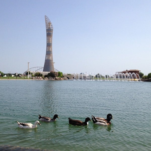 Photo taken at Aspire Park | حديقة اسباير by mohammed l. on 10/31/2012