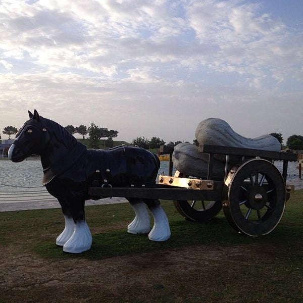 Photo taken at Aspire Park | حديقة اسباير by mohammed l. on 1/11/2013