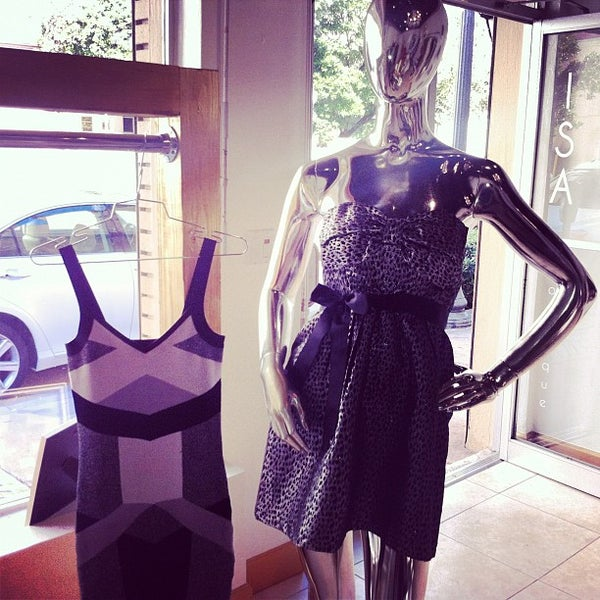 Photo taken at ISA boutique by Kelly S. on 11/26/2012