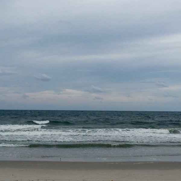 Photo taken at Carolina Beach by Fatin on 9/16/2015
