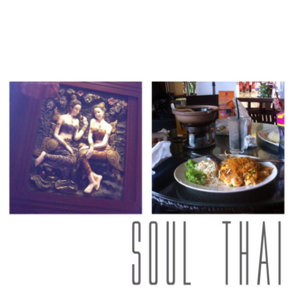 Photo taken at Soul Thai Restaurant by RemIja M. on 12/8/2014