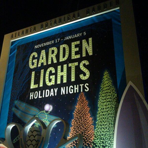 Photo taken at Atlanta Botanical Garden by Madeline B. on 12/9/2012