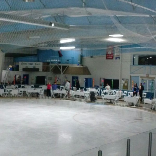 Photo taken at Charles Moore Arena by Sue B. on 5/19/2013