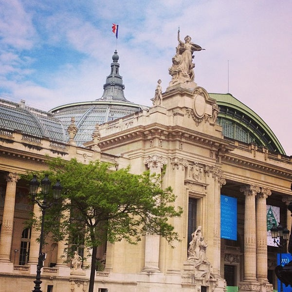 Photo taken at Grand Palais by Belle Beth C. on 5/26/2013
