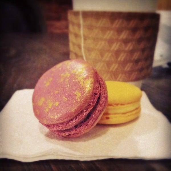 Photo taken at La Maison du Macaron by Christine W. on 2/16/2013