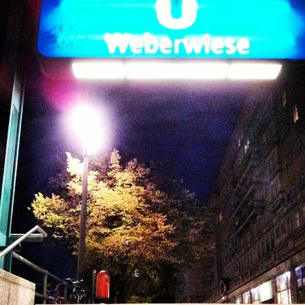 Photo taken at U Weberwiese by Frank d. on 10/3/2013