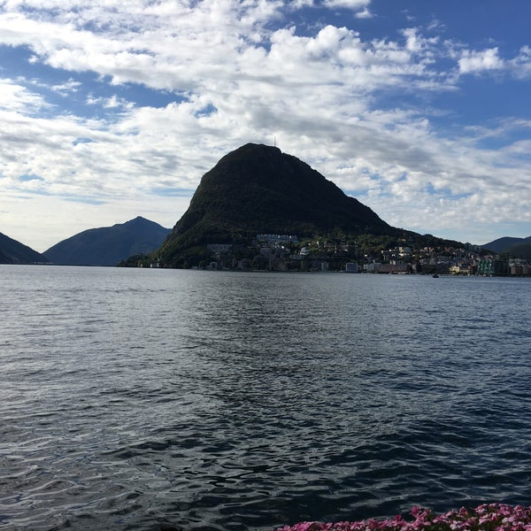 Photo taken at Lago di Lugano by Patrick Guido A. on 9/20/2016