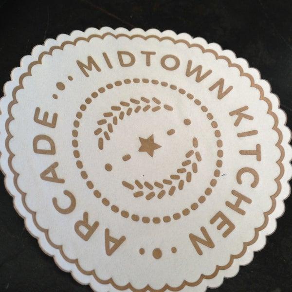 Arcade Midtown Kitchen Menu
