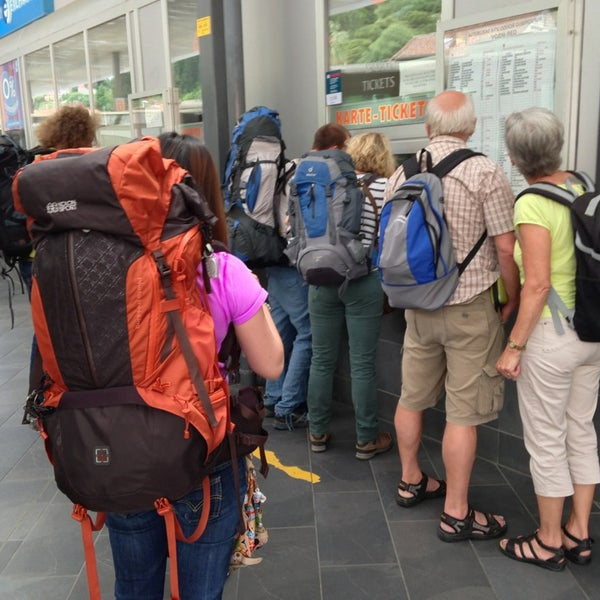 Photo taken at Autobusni Kolodvor Dubrovnik   Dubrovnik Bus Station by Lee J. on 6/4/2013