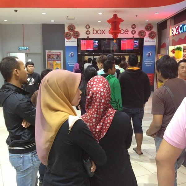 Photo taken at Big Cinemas by Amirul R. on 2/12/2013