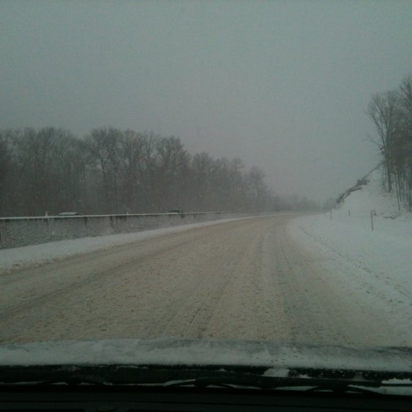Photo taken at I-76 (PA Turnpike) by Valerie S. on 12/26/2012
