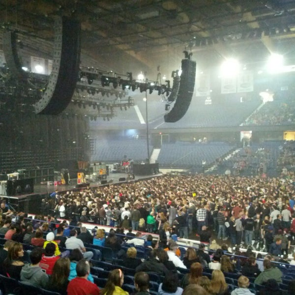 Photo taken at Allstate Arena by Drew D. on 3/29/2013