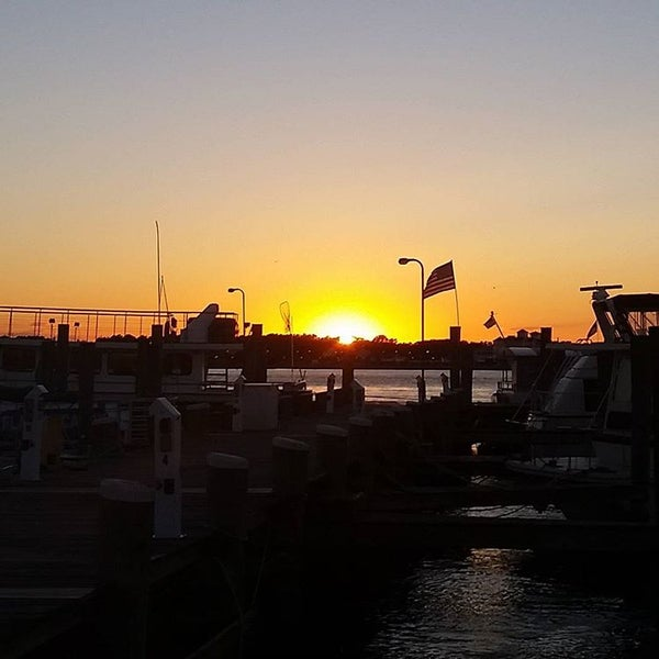 Photo taken at Marina Deck Resturant by Robert B. on 8/22/2016