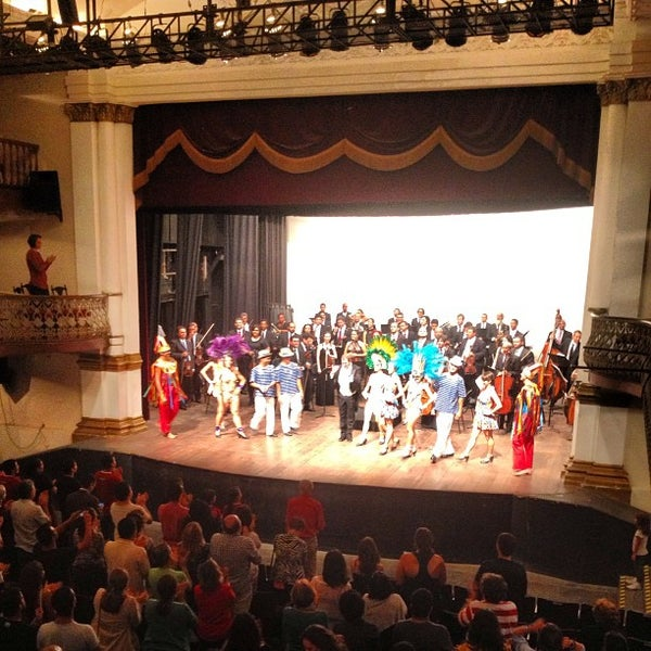 Photo taken at Teatro Alberto Maranhão by Raniery M. on 3/2/2013