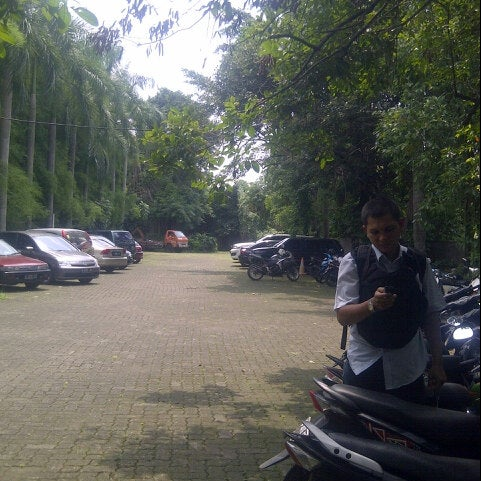 Photo taken at Kampus Tercinta IISIP Jakarta by Djony H. on 12/1/2012