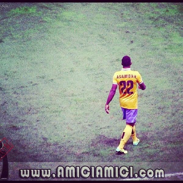 Photo taken at Stadio Ennio Tardini by Gian Marco T. on 11/2/2013