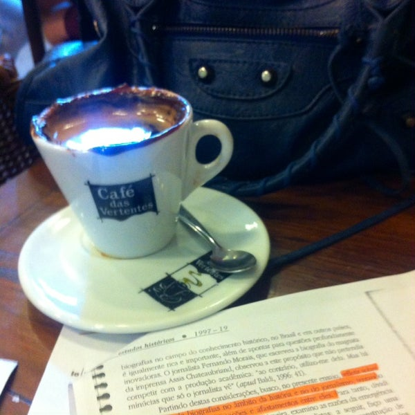 Photo taken at Café Book by Bia S. on 9/18/2014