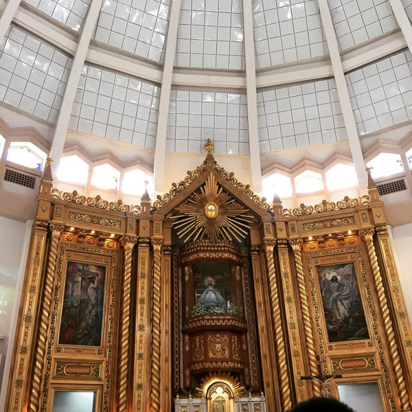 Photo taken at National Shrine of Our Lady of Peace and Good Voyage (Antipolo Cathedral) by Rachel on 3/22/2015
