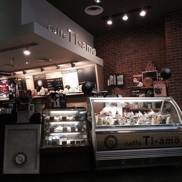 Photo taken at Caffè Ti-amo by Danielle S. on 5/4/2015